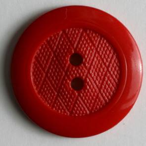Modeknopf - rot - 25 mm