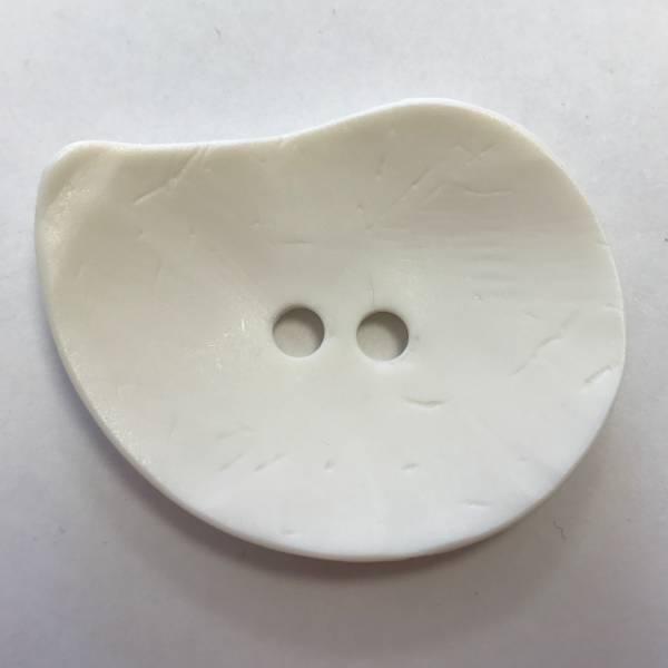 Modeknopf - weiß - 50 mm