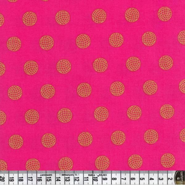 Sun Prints - Alison Glass - Kreise - pink - Patchworkstoff