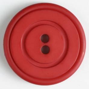 Großer Modeknopf - rot - 34 mm