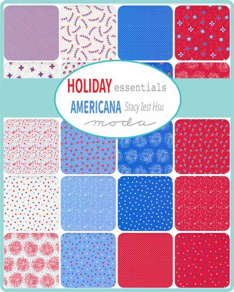 Charm Pack - Holiday Essentials Americana