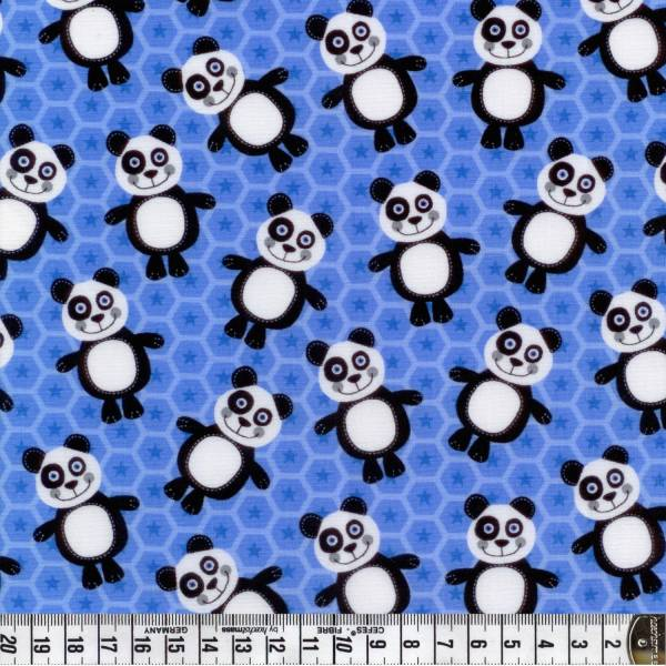 At the Zoo - Panda - blau