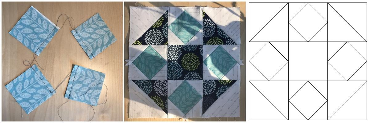 Patchwork-Quilt-Stoffe