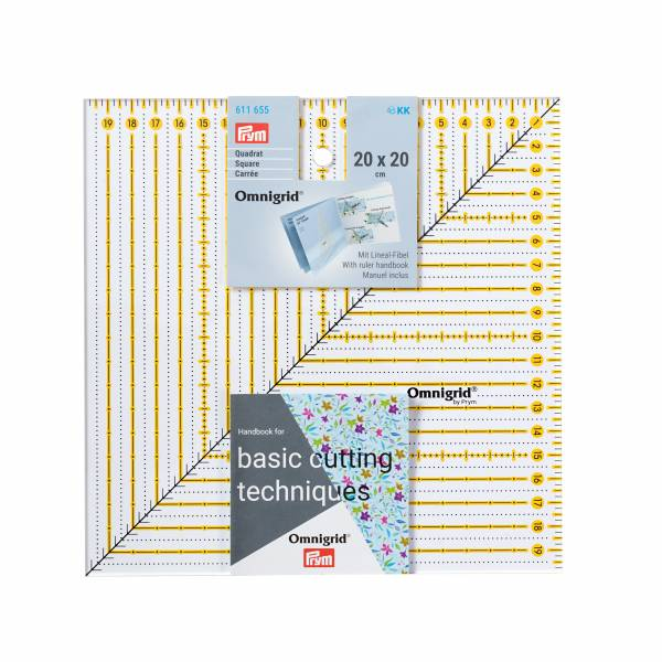 Universal-Lineal 20 x 20 cm - Patchwork Lineal