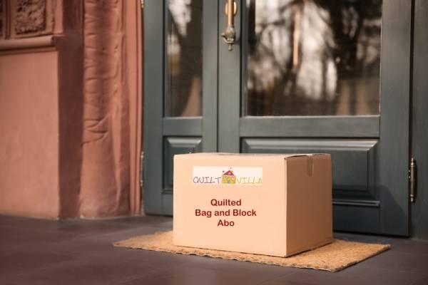 Quilted Bag and Block Abo - Nähabo - Stoffabo - Das Abo für alle die gerne Taschen und Patchwork näh