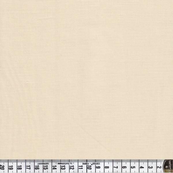 Spectrum Q61 - Creme - Uni - Patchworkstoff