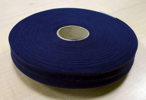 Schrägband - uni dunkelblau