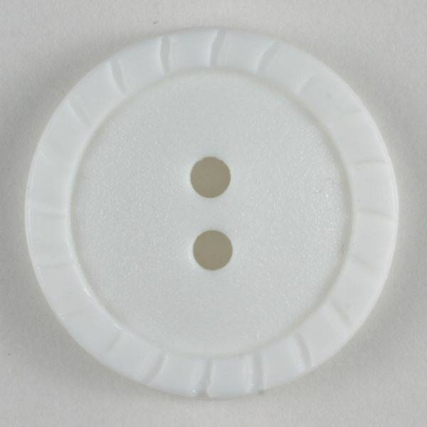 Modeknopf - weiß - 18 mm