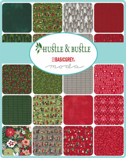Charm Pack - Hustle and Bustle