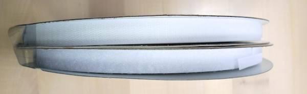 Klettband - weiß