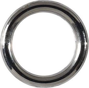 2 x Taschenringe - Silberfarbig - Ø 25 mm