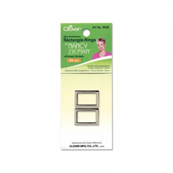 Taschenringe Nickel Brillant 18mm