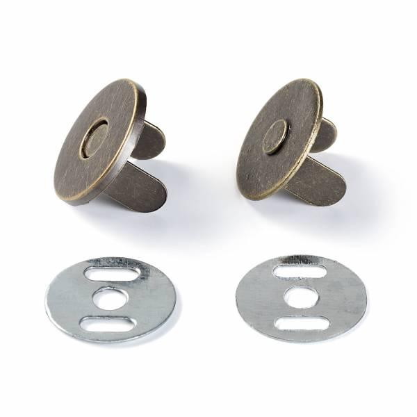 Magnetverschluss - Silberfarbig - Ø 19 mm