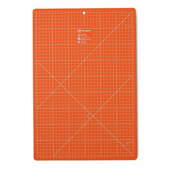 Schneideunterlage - orange - mittel 30 x 45 cm