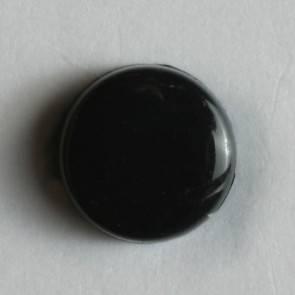 Kleiner Kinderknopf - schwarz - 7 mm
