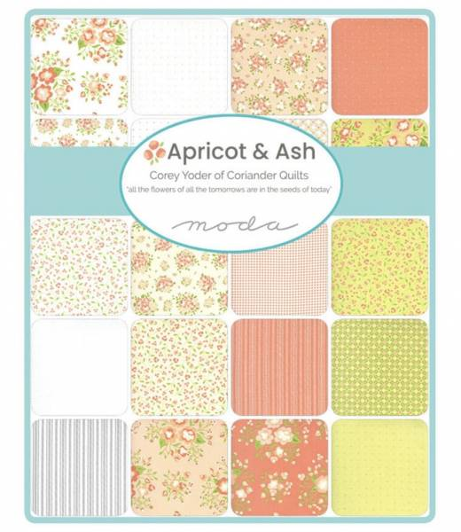 Charm Pack - Apricot and Ash