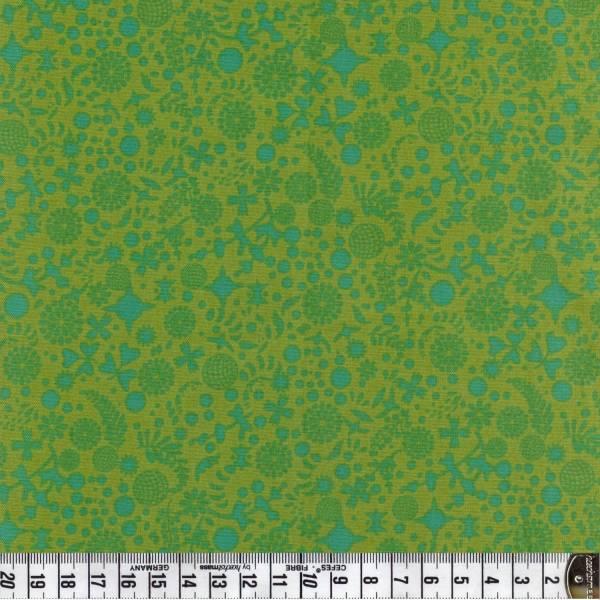 Sun Prints - Pflanzen klein - grün - Patchworkstoff