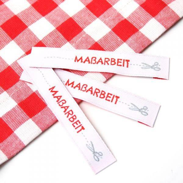 Webetikett - Label - Maßarbeit