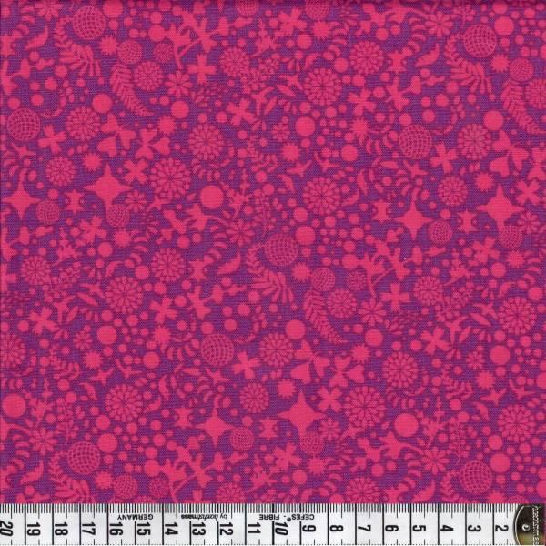 Endpaper - Pink - Patchworkstoff