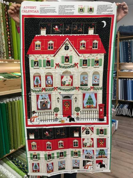 Haus - Adventskalender - Panel