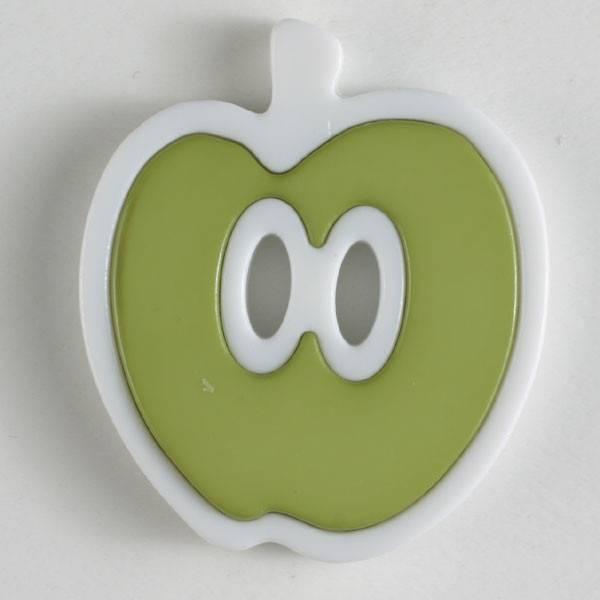 Knopf - grün - 25 mm