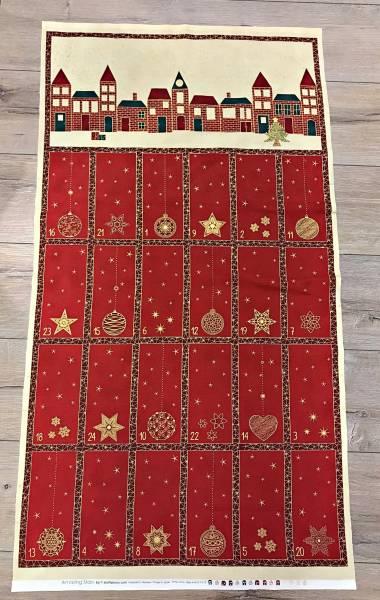 Amazing Stars - Advent - Adventskalender - rot