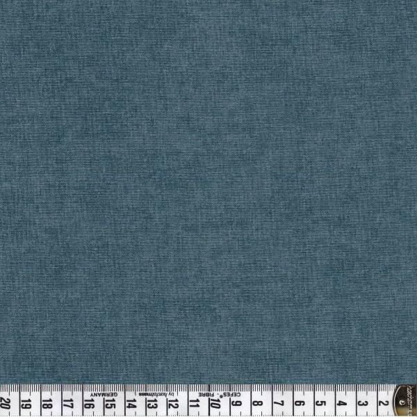 Melange Graublau - Patchworkstoff