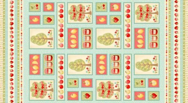 Funky Fruit - Panel - 60 x 110 cm