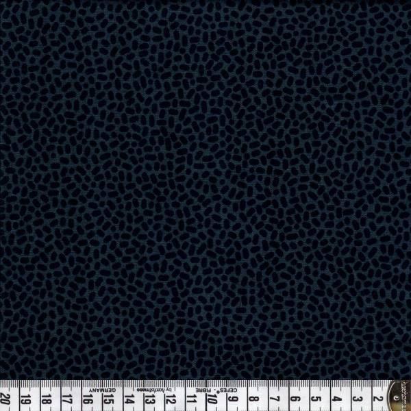 Speckles - schwarz - Patchworkstoff