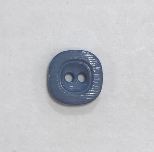 Kleiner Knopf - blaugrau - 11 mm