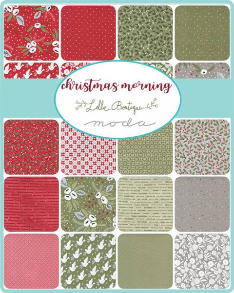 Charm Pack - Christmas Morning - Lella Boutique