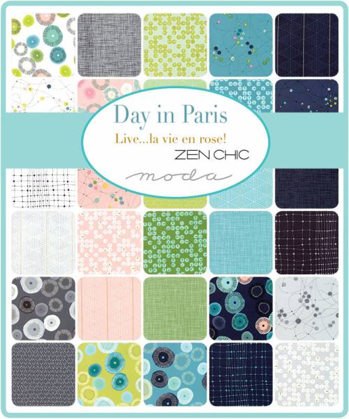 Charm Pack - Day in Paris