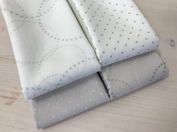 Modern Background - Stoffpäckchen - 4 Fat Quarter