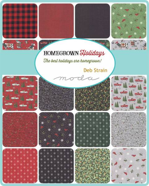 Charm Pack - Homegrown Holidays