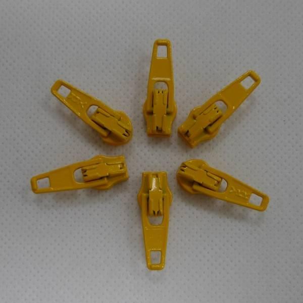 Zipper / Schieber - maisgelb - 3 mm