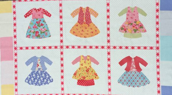 Dolly Dress - Panel - Bilderstoff