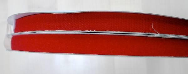 Klettband - rot