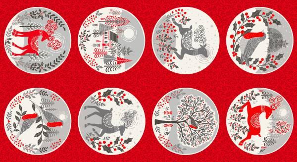 Scandi Circles - Weihnachten