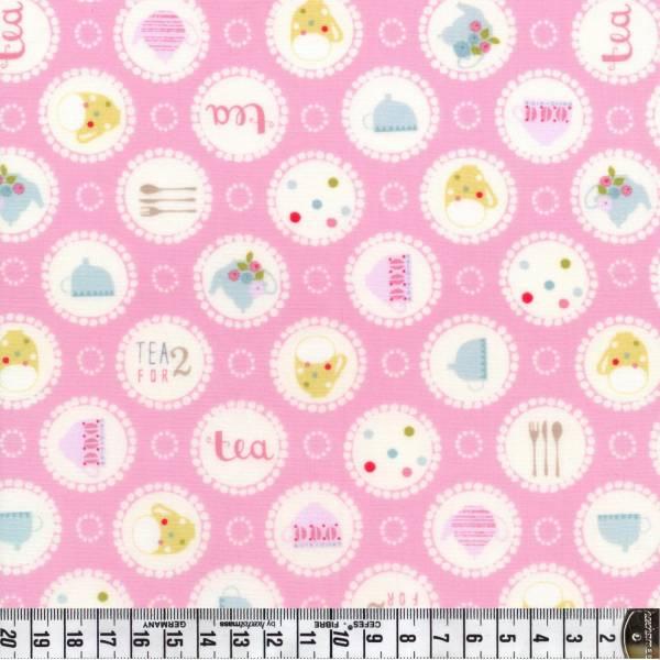 Garden Party - Buttons - rosa