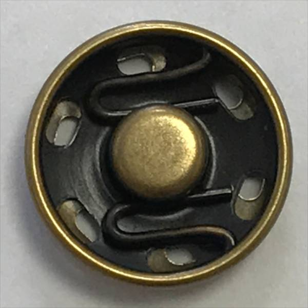 Druckknopf - kupfer - 15 mm