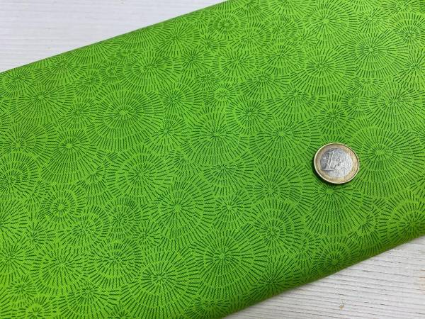 Kreise - grün - Meterware