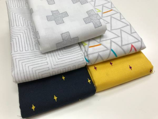 Good Vibes Only - Stoffpäckchen No.1 - 5 Fat Quarter