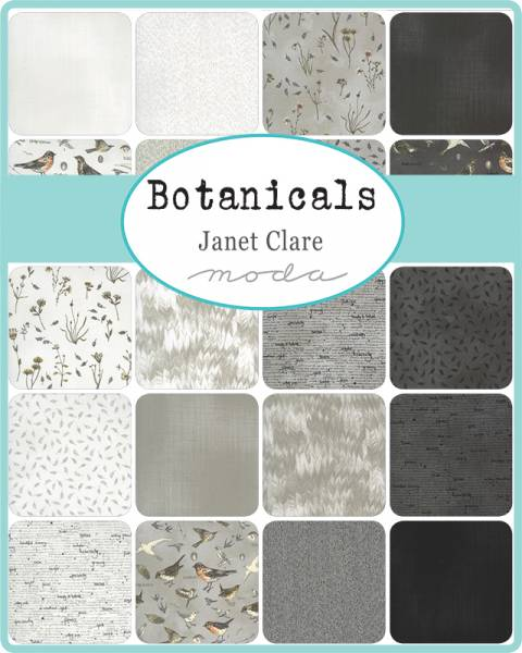 Charm Pack - Botanicals