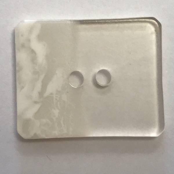 Modeknopf - weiß - 34 mm