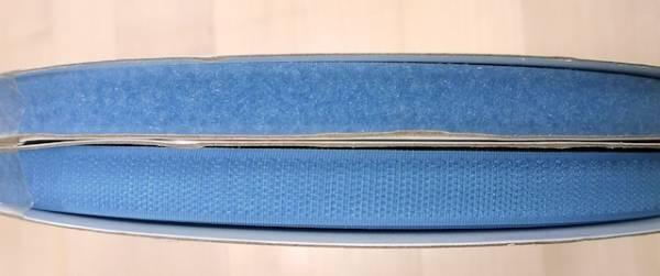 Klettband - hellblau