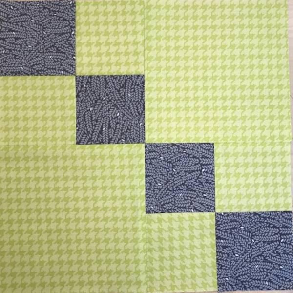 Anleitung - Double Four Patch - Block Nr. 58 - Nähanleitung