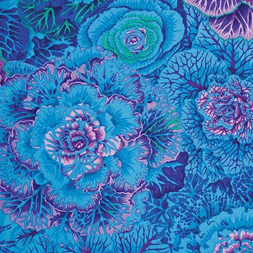 Brassica - Blue - Philip Jacobs for the Kaffe Fassett Collective