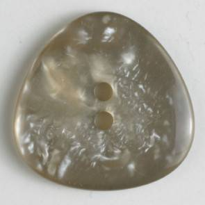 Knopf - Perlmuttoptik - beige - 25 mm