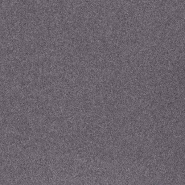 Baumwolle Fleece - Cassy - meliert dunkelgrau