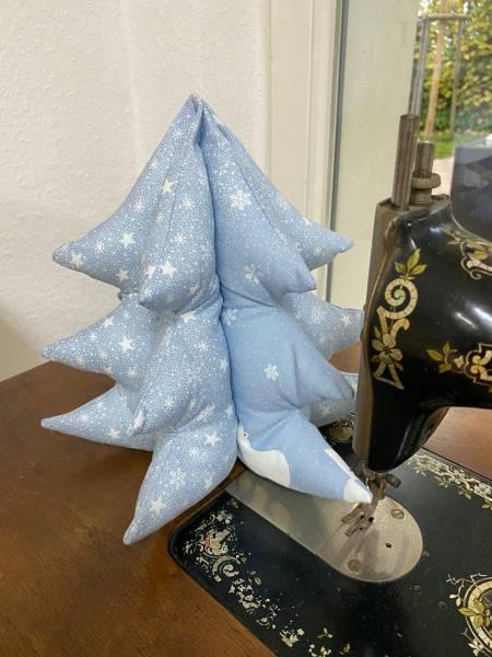 Nähanleitung - Fotoanleitung - Weihnachtsbaum in 2 Größen